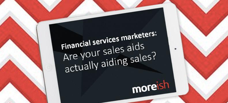 Are sales aids aiding sales?