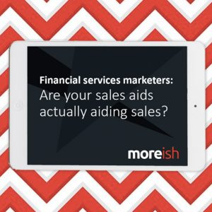 Are sales aids aiding sales?