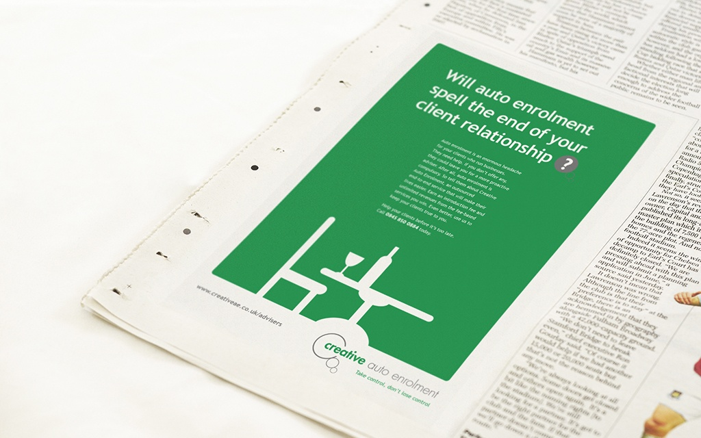 Integrated advertising campaign