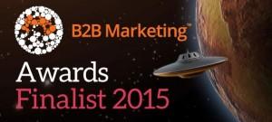 B2B Marketing Awards 2015 Finalist