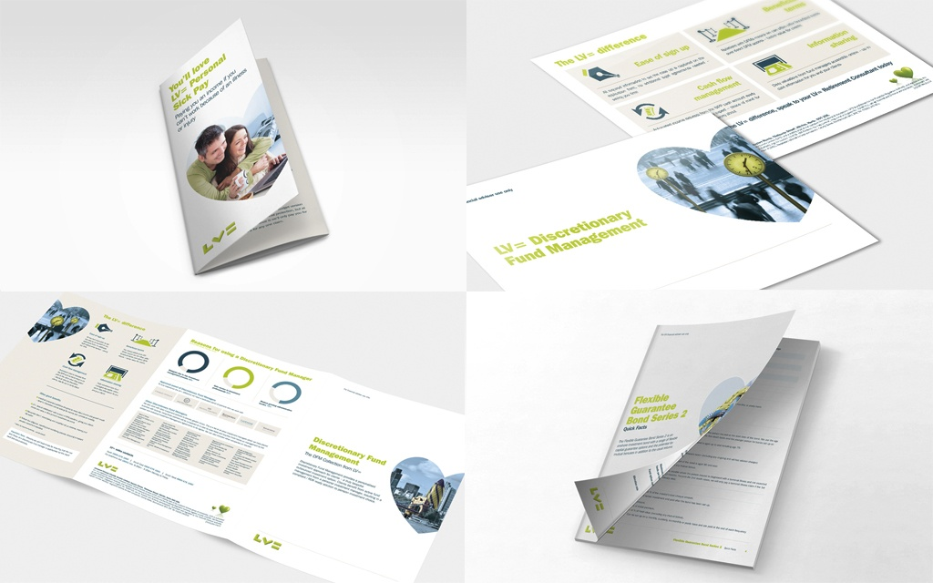 Brand guidelines for financial services LV=