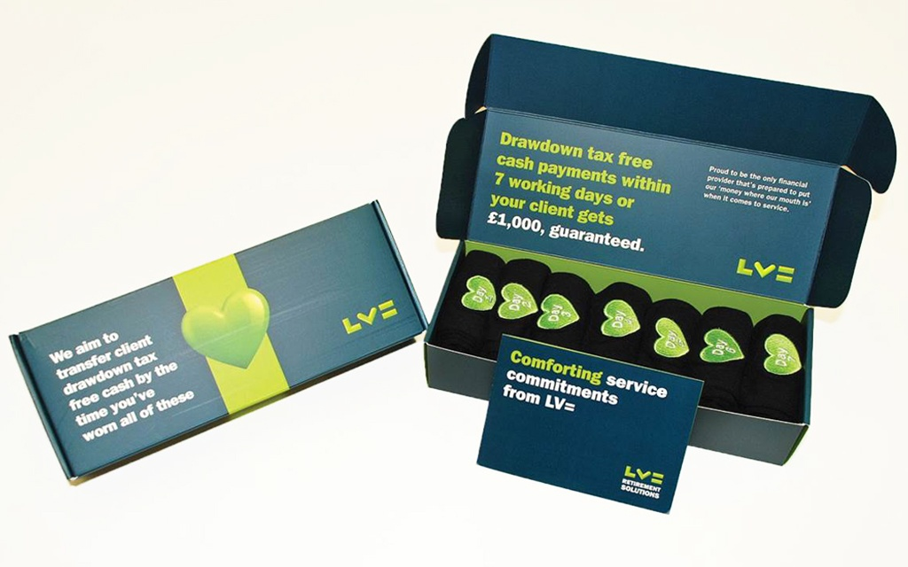 High Impact Direct Mail campaign