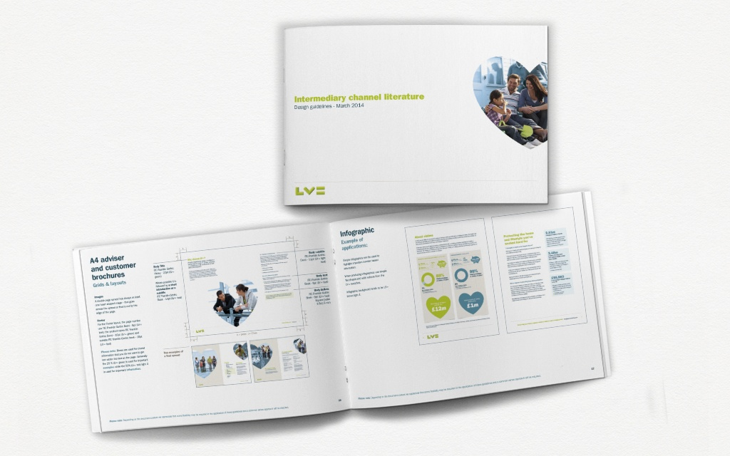 Moreish Marketing agency - Brand guidelines for intermediary literature