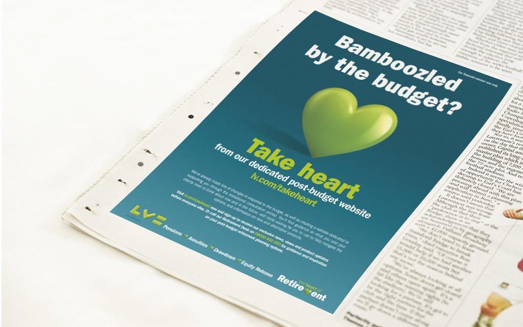 Printed Press ad
