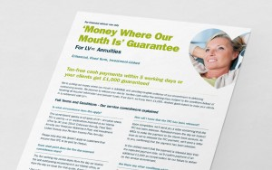 Direct Mail campaigns for intermediaries