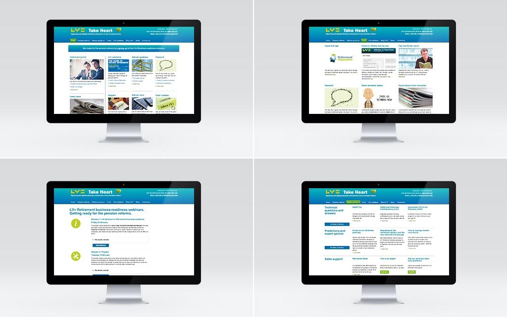 Information hub and webinars