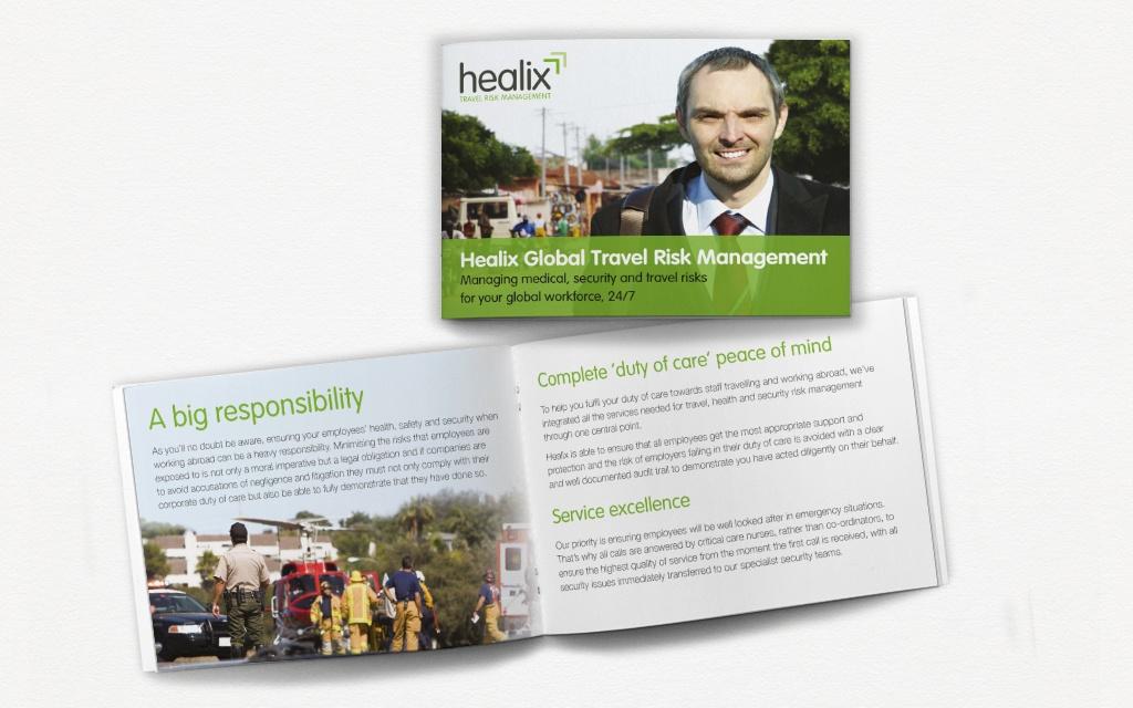 Brochure design from Moreish Marketing agency