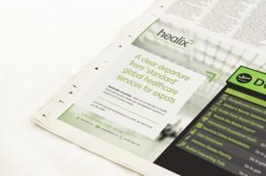 Moreish Marketing - printed press ad creative