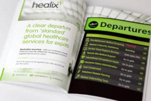 Healix Print Ads