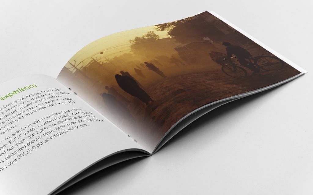 Brochure design for financial services
