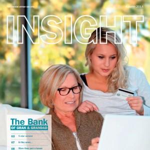 Digital format for Insight eMagazine from Moreish Digital Marketing Agency