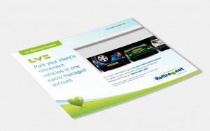 Promotional postcard design from Moreish Marketing agency