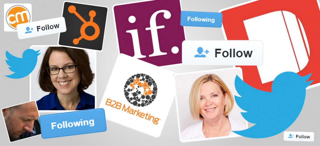 top b2b marketing influencers on Twitter