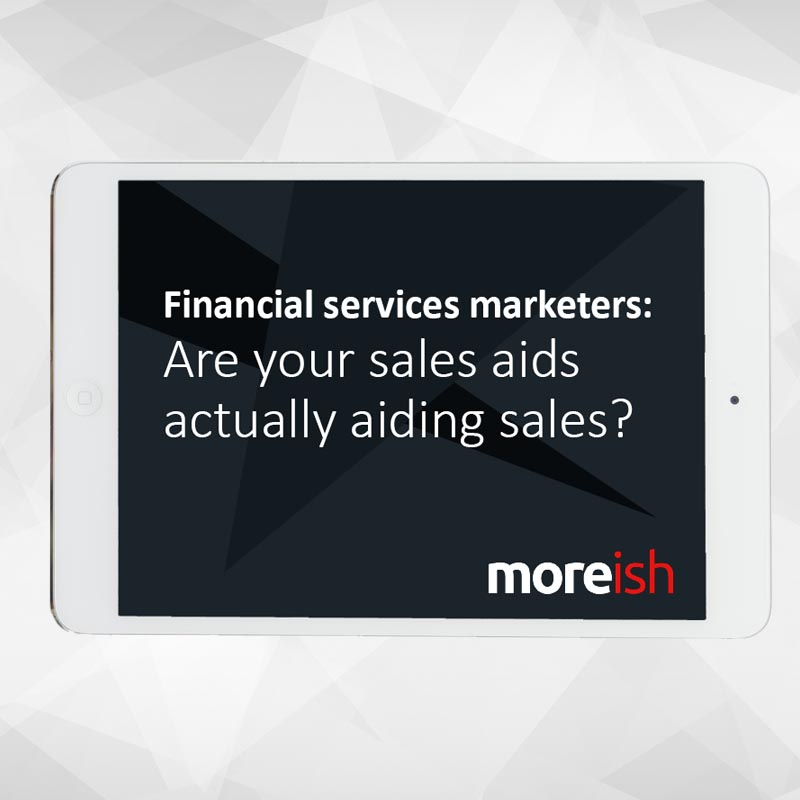 Financial Services sales enablement tools