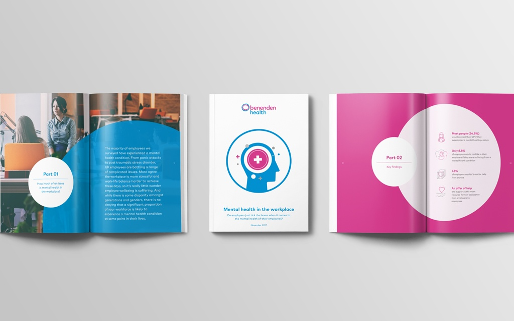 cover and internal page images of white paper content as part of content strategy