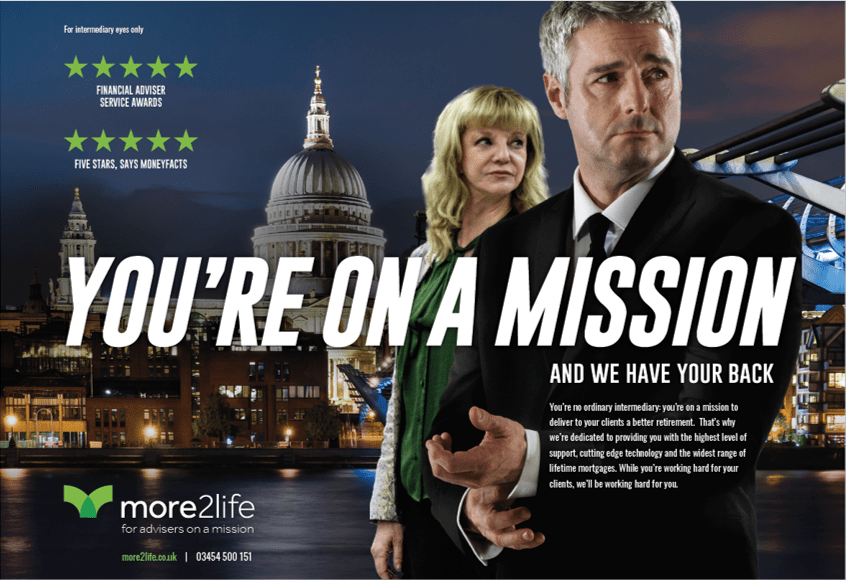 Award winning financial services marketing campaign
