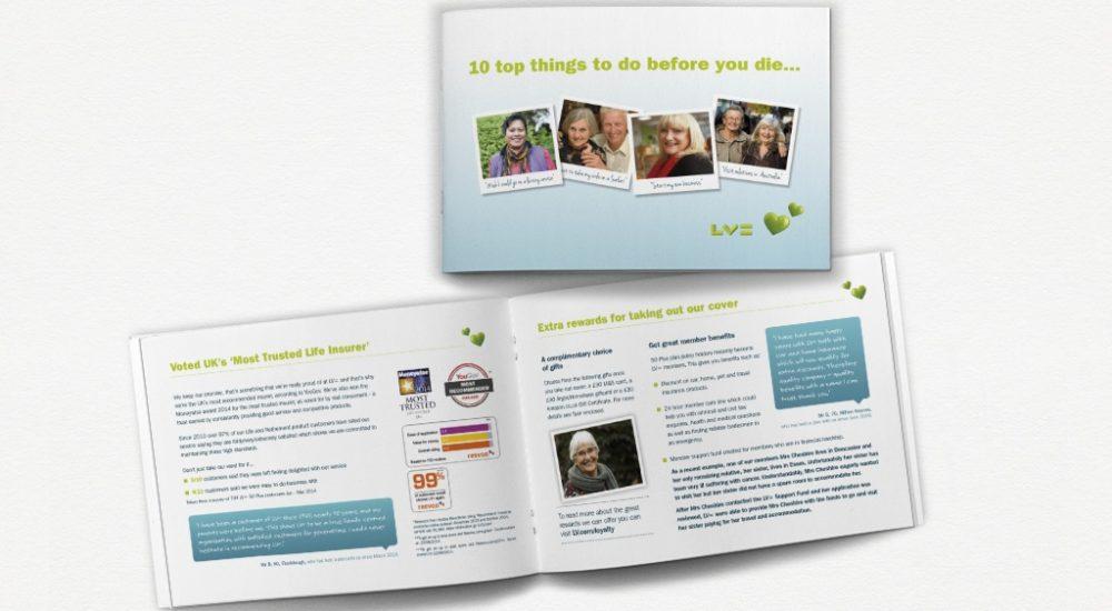 B2C brochure design
