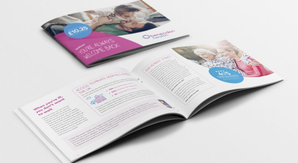 Benenden Health brochure example