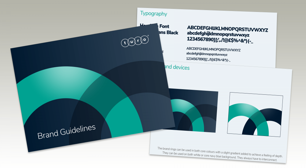 New brand identity and guidelines