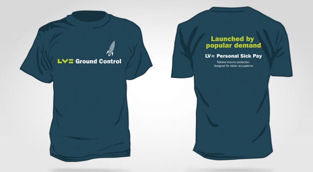 Product Launch - branded tshirt design