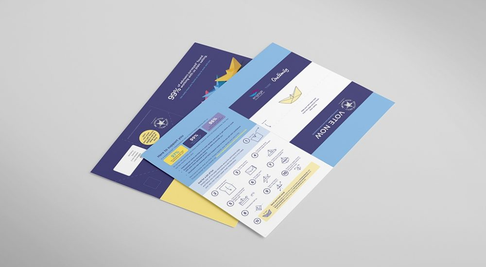 Direct Mailer from Moreish Marketing agency