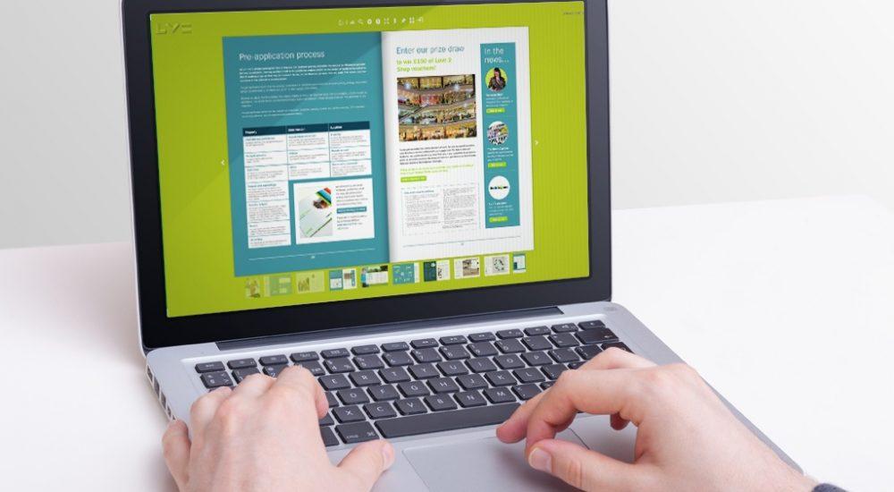 eMagazine format