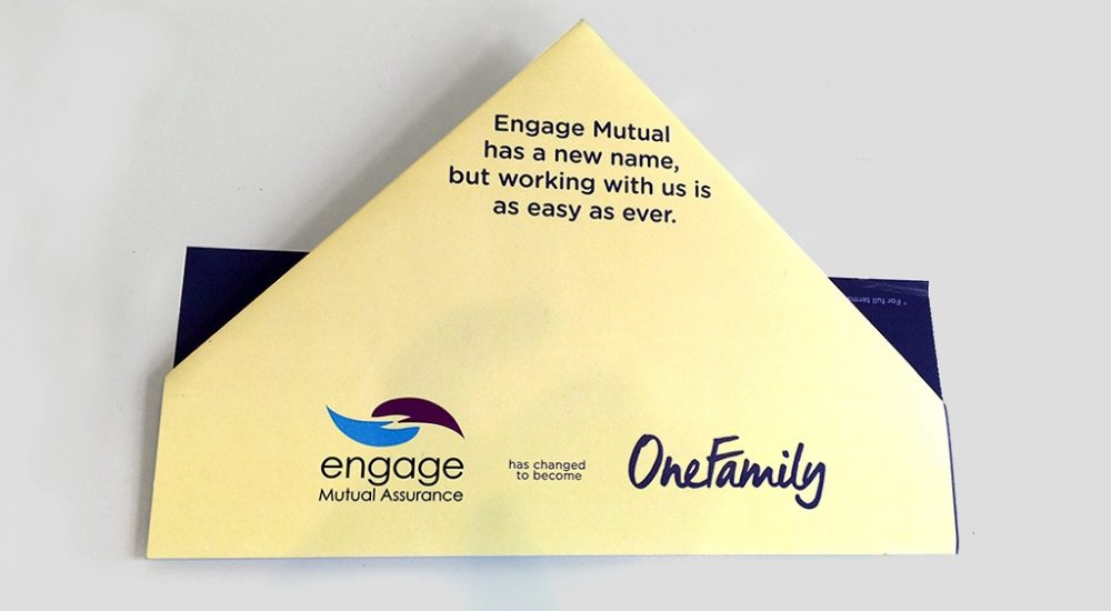 Innovative origami direct mail campaign